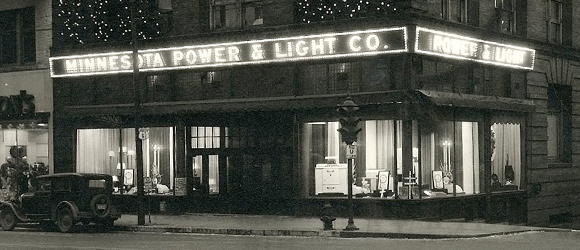 By 1923, through a series of acquisitions and consolidations in the early 20th century, the company became known as Minnesota Power and Light.
