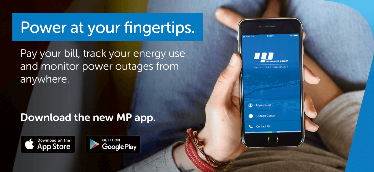 Power at your fingertips. Download the new MP app.